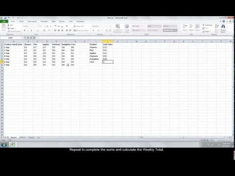 How To Create An Excel Formula