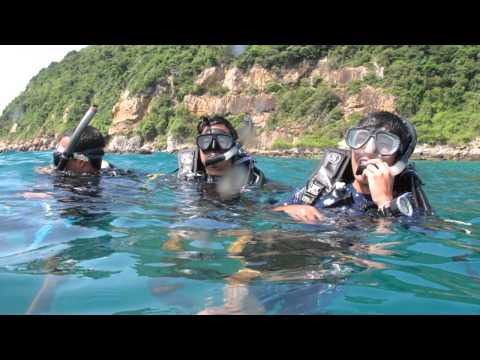 BUU: Marine technology  ทริปสอบ Advance Scuba Diving ณ แสมสาร