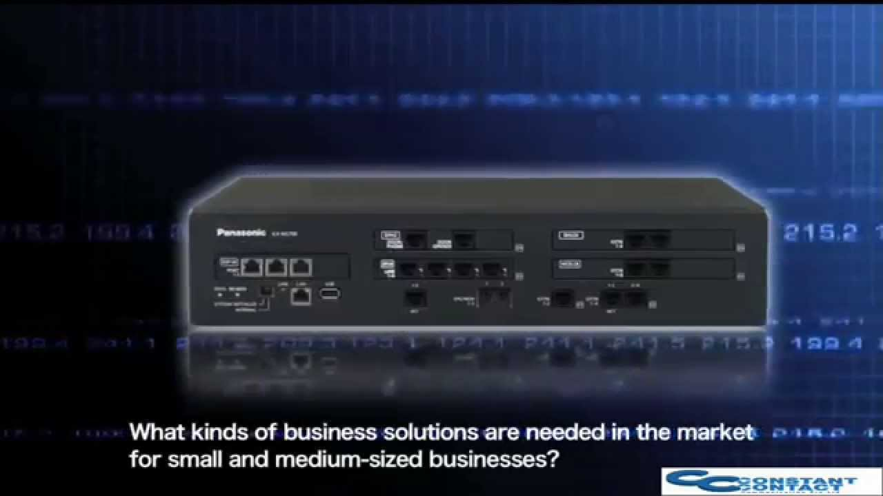 Panasonic Kx Ns700 Smart Hybrid Voip Phone System Youtube