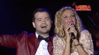 Laurentiu Duta feat. Andreea Banica - Shining heart @ Media Music Awards 2012