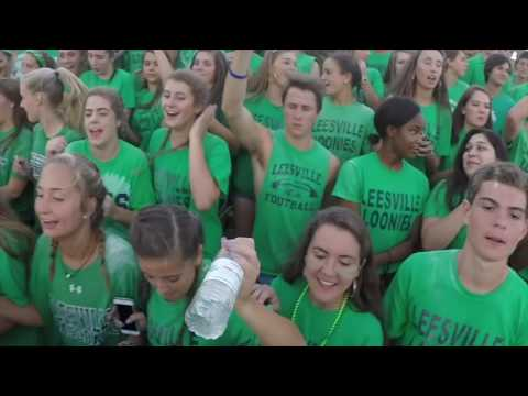 Leesville Road High School Student Section Showdown Video 2016
