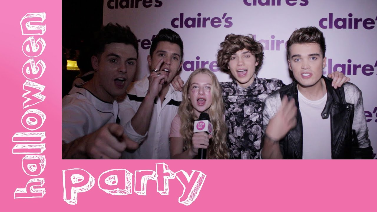 celebs at claire's halloween party - youtube