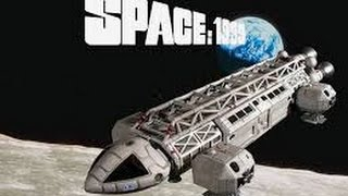 Modifying the MPC/Round2 Space: 1999 Eagle Scale model Part 3