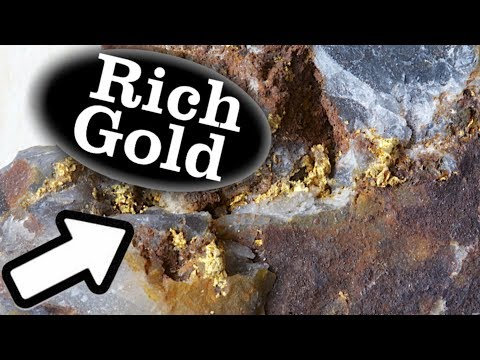 Rich Gold In Quartzite | Epithermal Bonanza ( Hotspring Type )  - Ask Jeff Williams