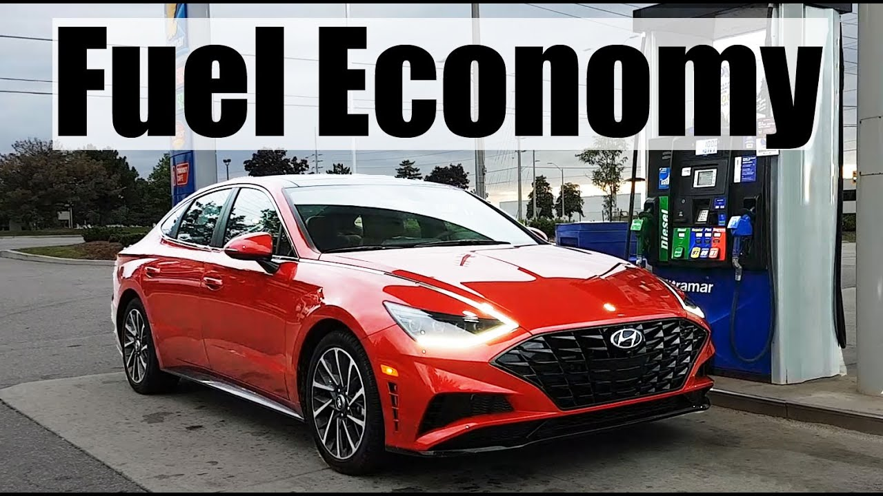 2020 Hyundai Sonata - Fuel Economy MPG Review + Fill Up Costs