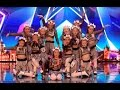 Little Girl Qt Crew Stuns Everyone | Ep 02 | Britain's Got Talent 2017
