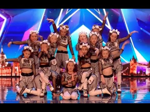 Little Girl Qt Crew Stuns Everyone | Ep 02 | Britain's Got Talent 2017