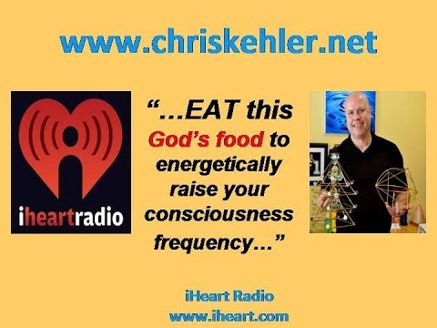 """...EAT this God's food to energetically raise your consciousness frequency..."""