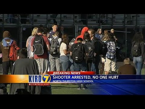 VIDEO: Report on shot fired at North Thurston High School