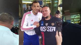 Сборная России по футболу в Калининграде