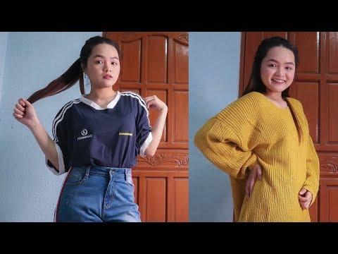 TRY-ON CLOTHING HAUL FT. ROSEGAL | Monica Garcia ♡