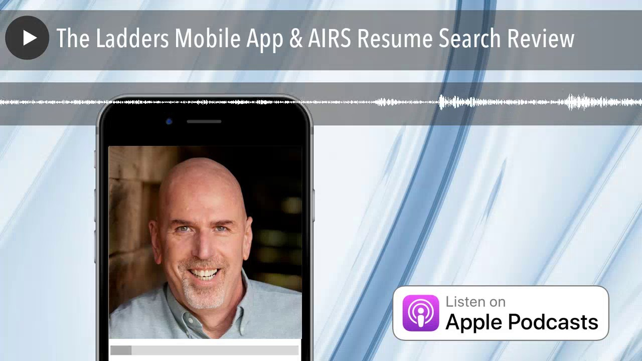 The Ladders Mobile App Airs Resume Search Review Youtube