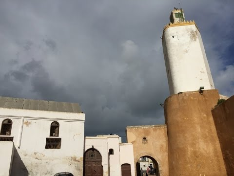 Sights of El-Jadida Morocco. Historic beach town on Atlantic
