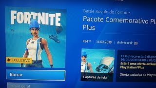FORTNITE - France alerte SKIN GRATUIT SUR PSN! -NERD EDU