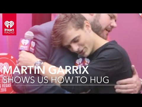 Martin Garrix Teaches Us How To Hug