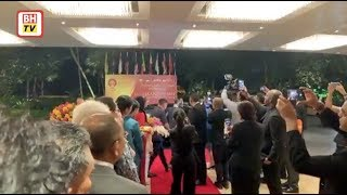 Perdana Menteri tiba di Bangkok