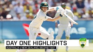 Smith leads the way as Australia take day one edge | Second Domain Test v New Zealand