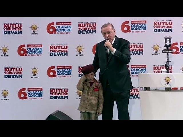 Эрдоган и дети