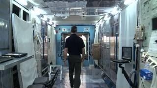 Hadfield Trains at the Japan Aerospace Exploration Agency (JAXA)