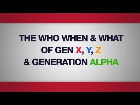 The Who, When and What of Gen X, Y, Z & Generation Alpha - Mark McCrindle, McCrindle Research