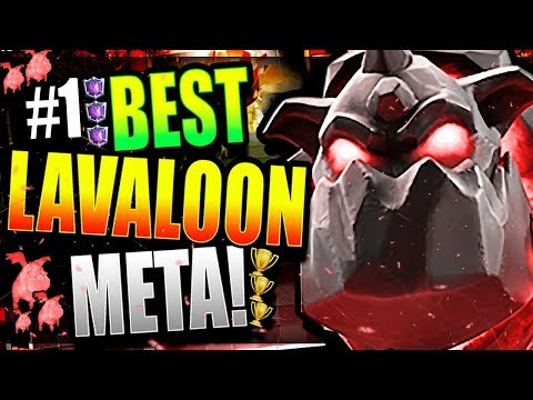 THE #1 'GOD-TIER' LAVALOON DECK! TRY THIS DECK!! Clash Royale Best Lava Hound Deck 2018