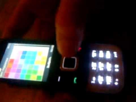 Nokia 5330 - подсветка вокруг клавиатуры