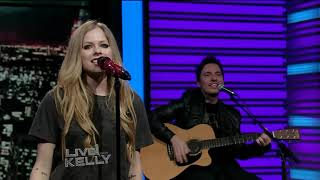 Avril Lavigne - Smile (11.28.2011)(Live! With Kelly 720p)