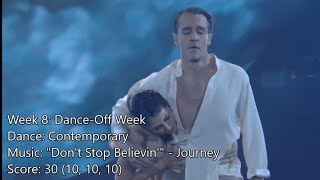🕺 James Van Der Beek - All Dancing With The Stars Performances [Reupload]