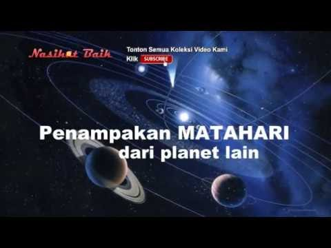 Begini Penampakan Matahari dari Planet Lain bukti Keajaiban Allah yang Menakjubkan