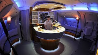 LUXURY IN THE SKY: Emirates A380 business class Brisbane to Dubai