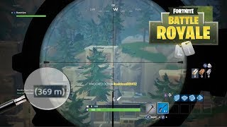 Top 10 LONGEST SNIPER Shots in Fortnite History! pt. 2
