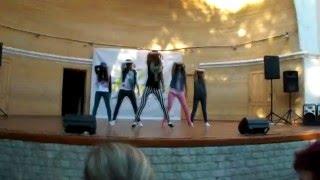 Хип-хоп девушки. Красивый танец в Крыму