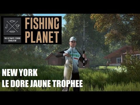 fishing planet dore jaune new york