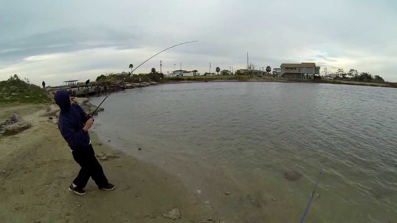 flounder fishing in galveston tx broken bridge 720p hd