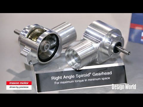 Inside the smallest standard right-angle gearboxes in the world