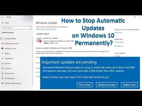 How To Stop Automatic Updates On Windows 10? | Disable Windows 10 Auto-Updates