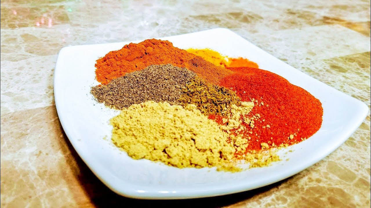 بهارات مندي اللحم اليمني Yemeni Mandi Spices Mix Youtube