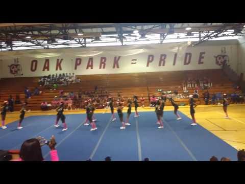 """Cass Tech Cheer """"Cheer"""" 2014 Think Pink Event"""
