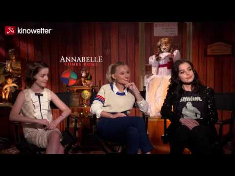 Interview McKenna Grace, Madison Iseman, Katie Sarife ANNABELLE COMES HOME