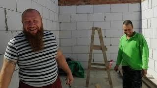 Дом из кирпича и газоблока в ст. Новоминской, строим дома на юге для переезжающих на пмж.