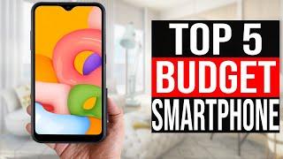 TOP 5: BEST Budget Smartphone 2021