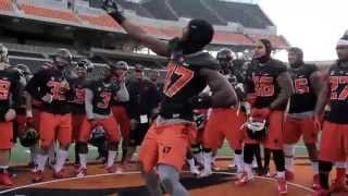 Oregon State Beavers Football Dance Off Competition