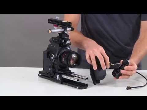 Canon C100/C300/C500 Handgrip Relocator - YouTube