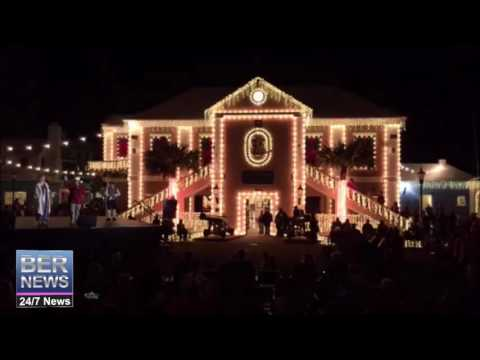'Lighting Of The Town' In St. George's, November 26 2016