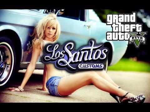 GTA5  ONLINE  КАК БЫСТРО ОТКРЫТЬ  ВЕСЬ ТЮНИНГ В  Los Santos Customs