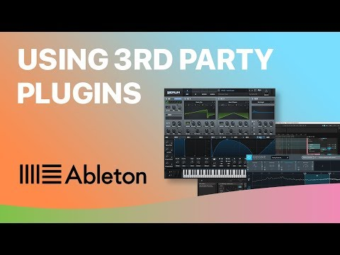 Using 3rd Party VST Plugins in Ableton Live