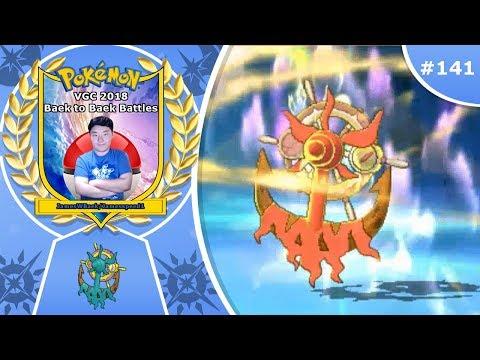 """Time for Your Dhelmise"" Pokémon Ultra Sun & Moon VGC 2018 Baek to Baek Battles - Episode 141"