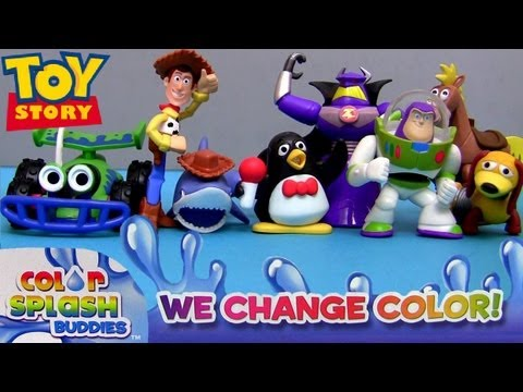 Color Changers Toy Story Splash Water Toys Youtube