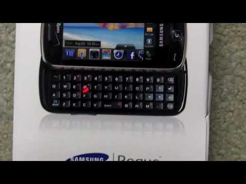 Samsung Rogue Unboxing (Verizon)
