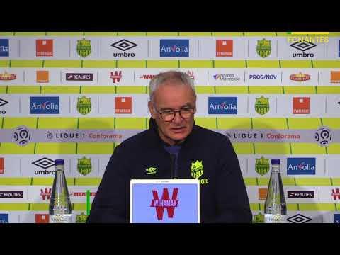 Claudio Ranieri avant AS Monaco - FC Nantes